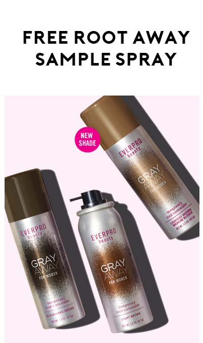 FREE Root Away-Temporary Root Concealer Spray From Target