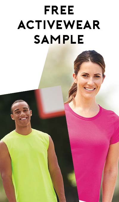 STILL ACTIVE: FREE Dri-Power JERZEES Activewear Sample (Garment Decorators & Distributors Only)