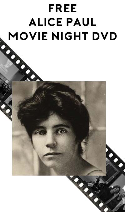 "FREE Alice Paul Women's Rights Activist ""Iron Jawed Angels"" Movie Night DVD"