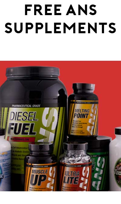FREE ANS Pre-Workout & BCAA Samples