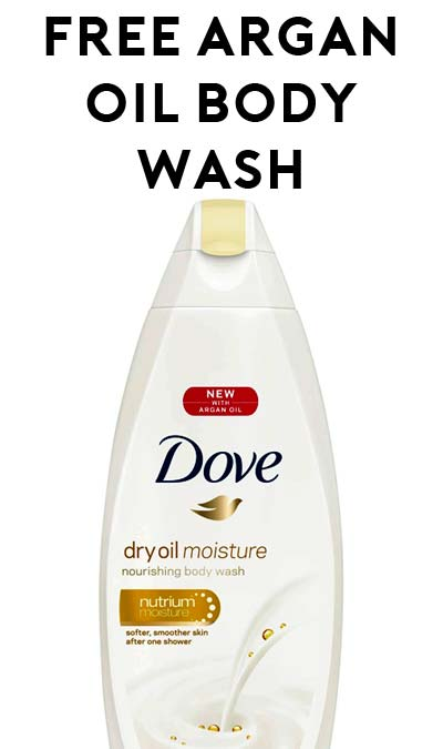 STILL ACTIVE: FREE Dove Dry Oil Moisture Nourishing Body Wash For RiteAid Plenti Members