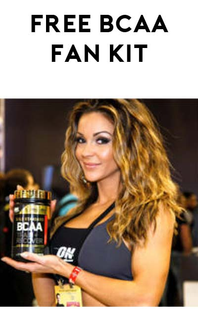 FREE Optimum Nutrition BCAA Fan Kit With Swag & Product Sample