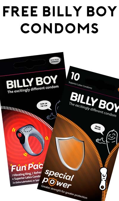 FREE Billy Boy Condom Samples