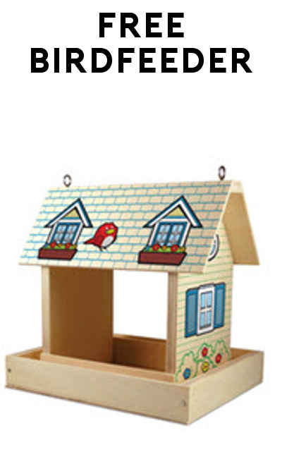 FREE Birdfeeder From Lowe's Build & Grow Event April 9th at 10:00 AM