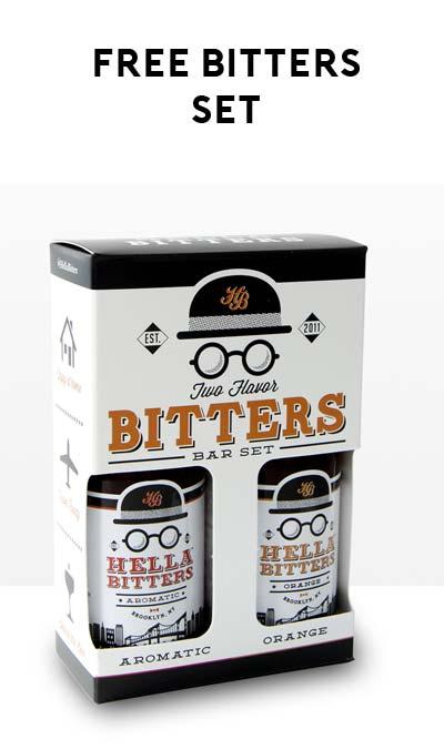 FREE Marlboro Bitters Mixer Set