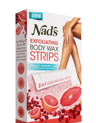 STILL ACTIVE: FREE Nad's Exfoliating Body Wax Strips Sample