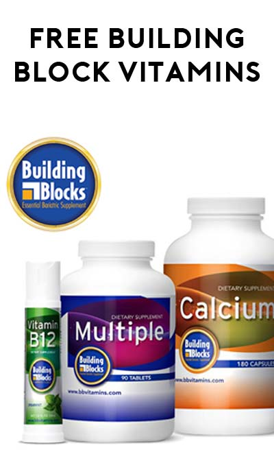 FREE Building Blocks Vitamin-Essential Samples
