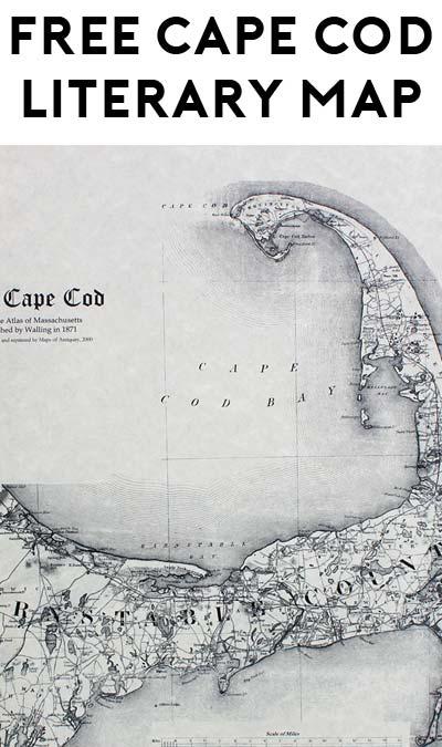 FREE Cape Cod Literary Map