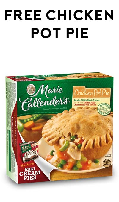 ADD TO YOUR CARD TODAY ONLY: FREE Marie Callender's Pot Pie Or Fruit Pie For Kroger Freebie Friday (Softcoin Loyalty Card Required)