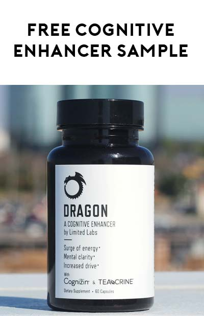 FREE Dragon Cognitive Enhancer Sample From LTDLabs (Instagram Required)