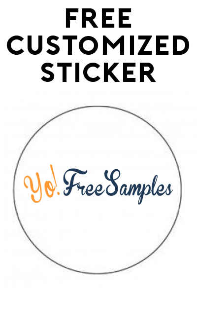 FREE Customized Sticker From AnyCling!