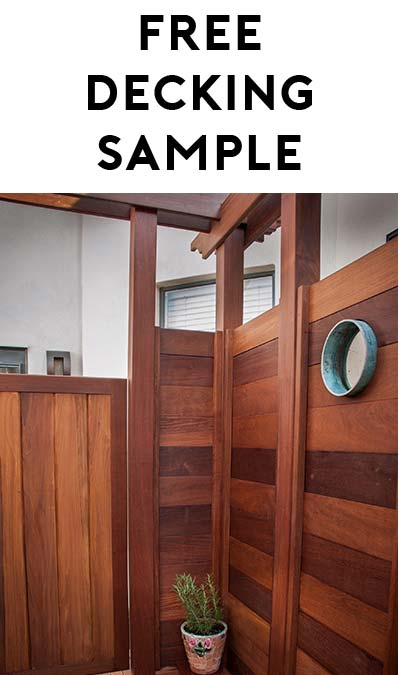 FREE IPE Decking Boarding Sample
