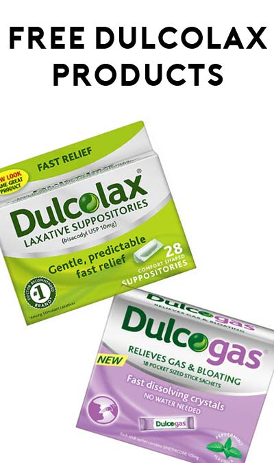FREE DulcoLax Or DulcoEase or DulcoGas Products After Rebate From Any Retailer