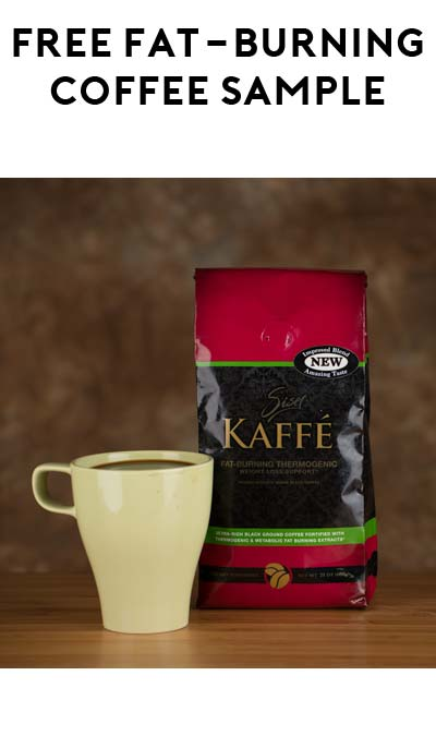 FREE Fat-Burning Coffee Sample (Email Confirmation Required)