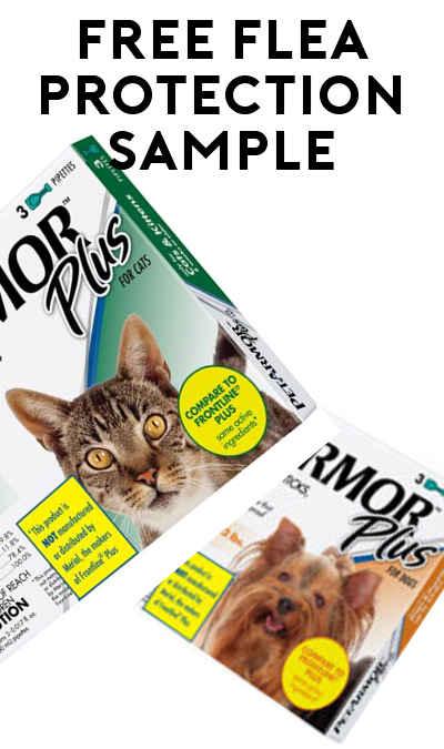 FREE Perrigo Pet Armor Plus Cat & Dog Flea Protection Sample