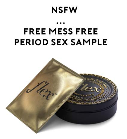 Nearly FREE Flex Women Non-Messy Period Intimacy Sample ($5 Shipping Required) [Verified Received By Mail]