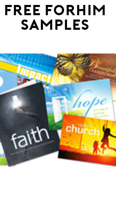 FREE forHIM Sample Faith Pack (Church Required)