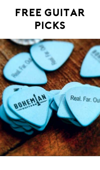 FREE Guitar Picks From Bohemian Guitars