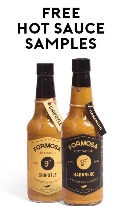 FREE Formosa Hot Sauce Sample Packet (Email Required)