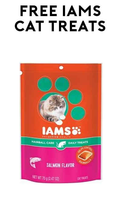 TODAY ONLY: FREE IAMS Cat Treats At Kroger, Fry's, Ralphs, Dillons & Others