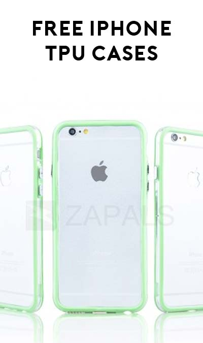 FREE TPU Frame Case For iPhone 6 / 6 Plus From Zapal's