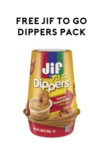 FREE Jif To Go Dippers Pack