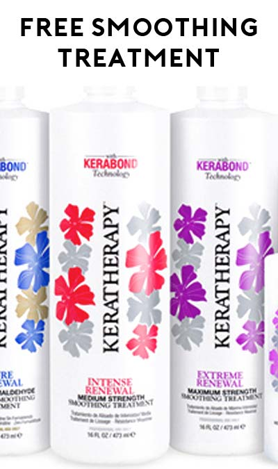 FREE KeraTherapy Extreme Renewal Keratin-Maximum Strength Sample (Stylists Only)