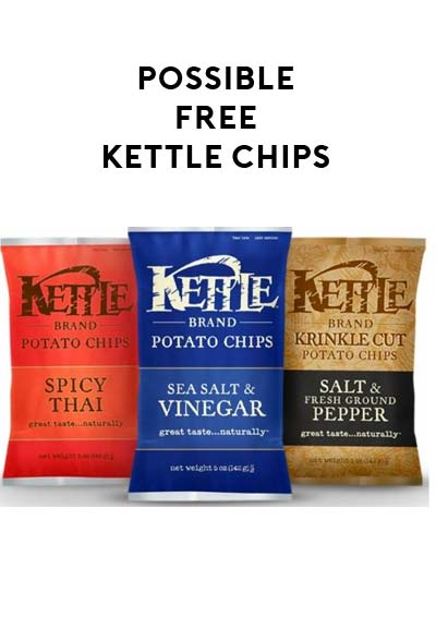 Possible FREE Bag of Kettle Brand Chips (Kroger/Softcoin Card Required)