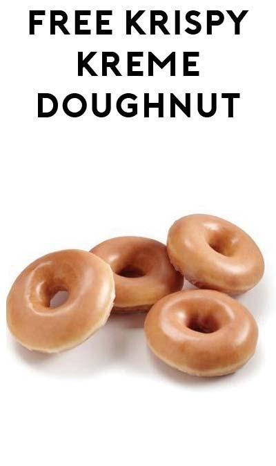 TODAY ONLY: FREE Original Glazed Doughnut or Dozen Doughnuts From Krispy Kreme September 19th For Talking or Dressing As Pirate