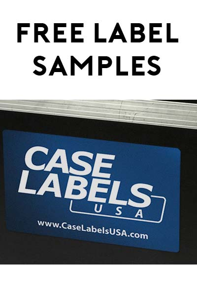 FREE Label Samples From Case Labels USA (Company Name Required)