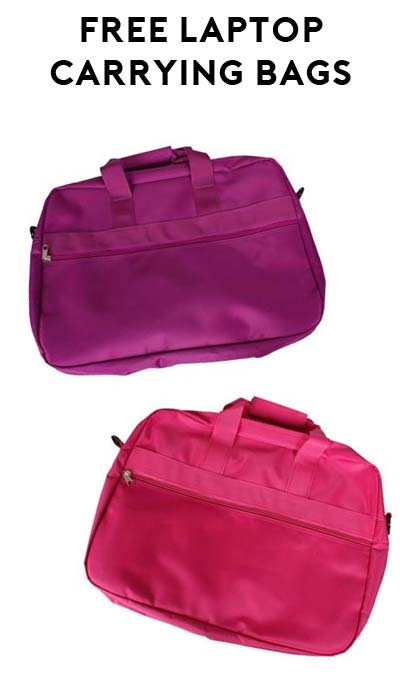 LAST DAY > FREE Purple & Pink Laptop Bag After Rebate At Fry's Electronics