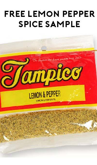 FREE Lemon Pepper Seasoning Sample From Tampico Spice