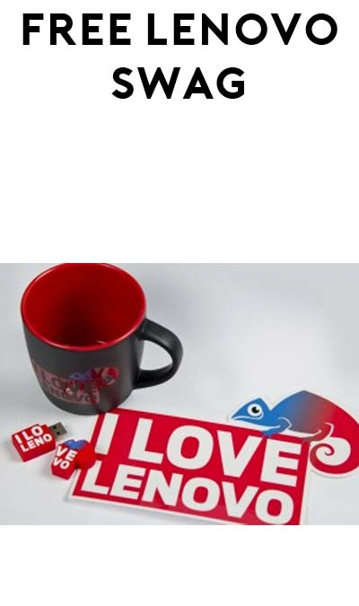FREE Lenovo Tattoo, Sticker, Mug & USB Stick