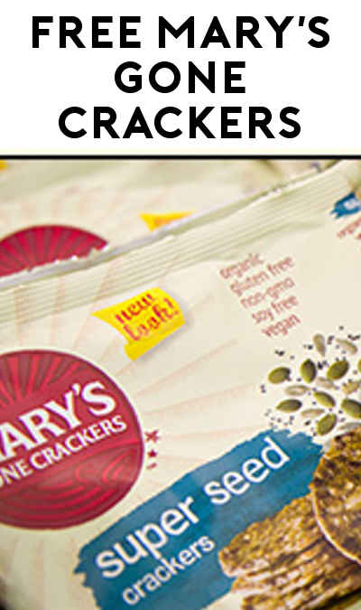 FREE Mary's Gone Crackers (For Events With Minimum 100 Attendees)