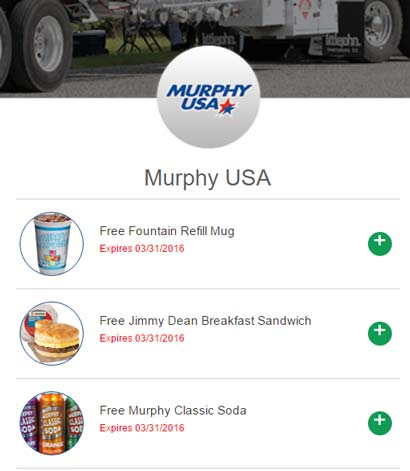 FREE Jimmy Dean Breakfast Sandwich, Murphy Classic Soda & Fountain Refill Mug At Murphy USA Locations (Redeem In Store)