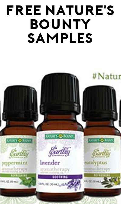 FREE Nature's Bounty Earthly Essential Oil Elements (Apply To Host Party)