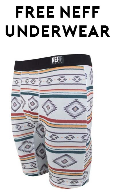 FREE Neff Underwear (Instagram Required)