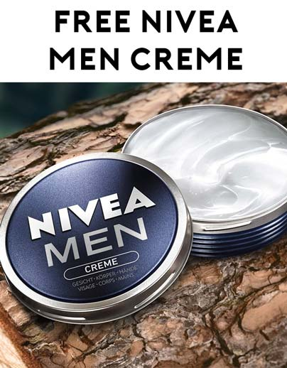 Free Nivea Men Creme Sample [Verified Received By Mail] - Yo! Free