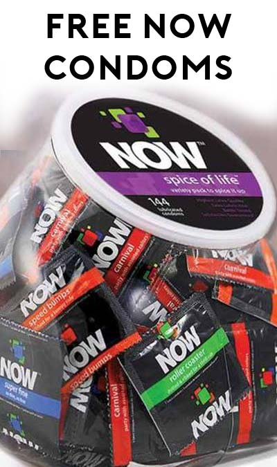 FREE Now Condoms Sample & Coupon