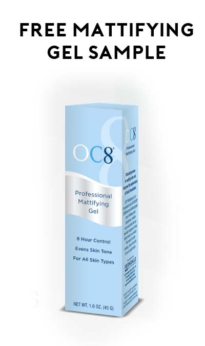FREE OC8 Mattifying Gel Sample (Facebook Message Required)