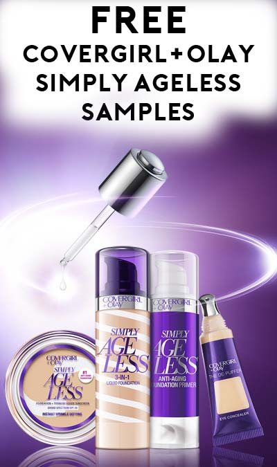 FREE Covergirl Olay Simply Ageless 3in1 Liquid Foundation – Free Mail Sample