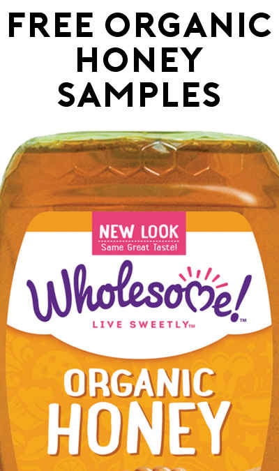 FREE Organic Amber Honey or Organic Raw Honey Sample