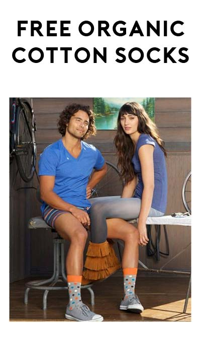 FREE Organic Cotton Socks Pair From Pact Clothing