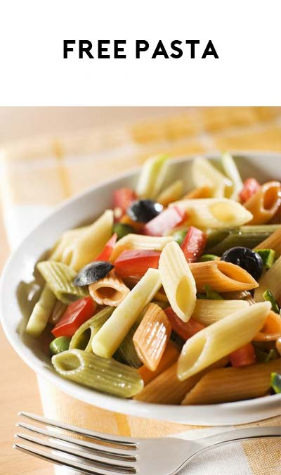 FREE Italian Pasta & Egg Pasta Samples (Company Name Required)