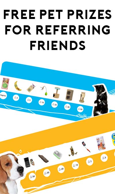 STILL ACTIVE: FREE Cat or Dog Prizes From Petphabet For Referring Friends