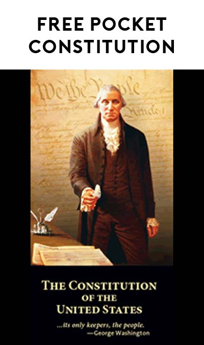 FREE Pocket U.S. Constitution (SASE Required)