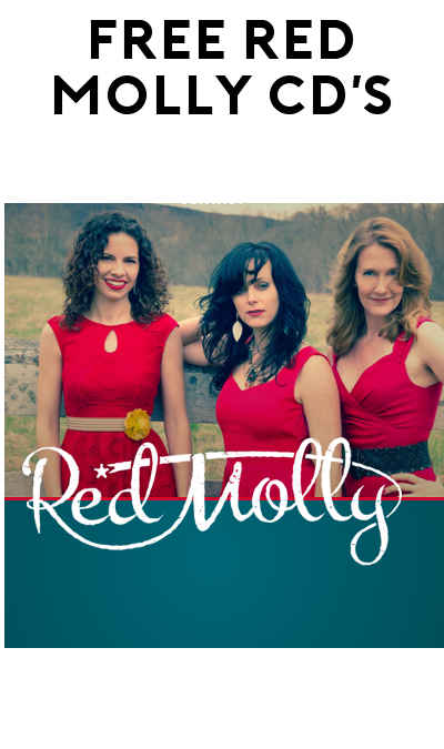 FREE Red Molly Music CD's (Street Team Required)