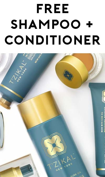 FREE T'ZIKAL Beauty's Hydrating Shampoo and Deep Moisturizing Conditioner [Verified Received By Mail]