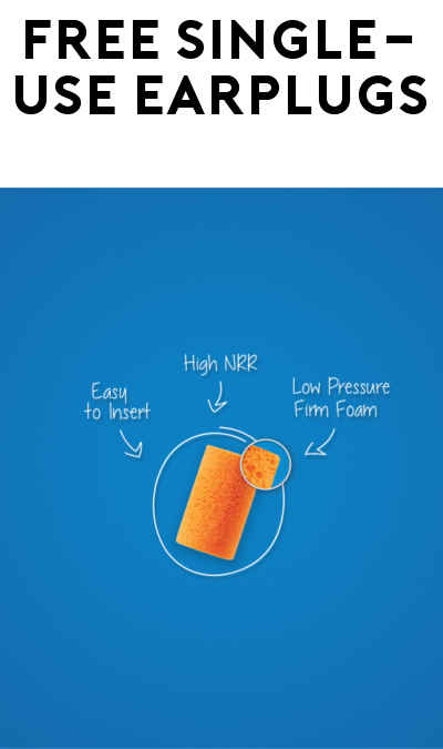 5 FREE Howard Leight FirmFit Single Use Earplugs (For Safety Professionals Only)