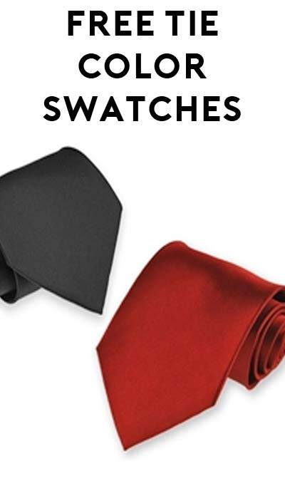 FREE SolidColorNeckties.com Color Swatches